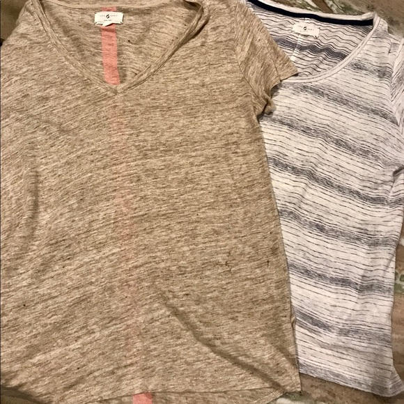 Lou & Grey Tops - 2 Lou and Gray T-shirt's, size small